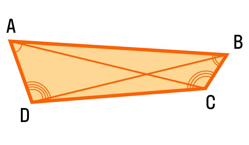 равенство диагоналей признак прямоугольника