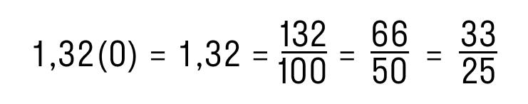 перевод периодической десятичной дроби в обыкновенную