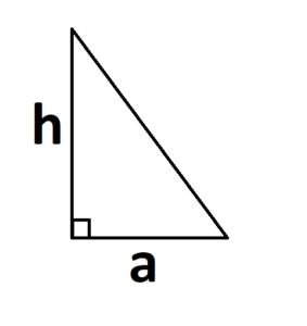 площадь треугольника при прямом угле
