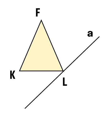 Задание построить симметричную фигуру относительно оси