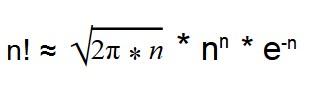 формула Стирлинга