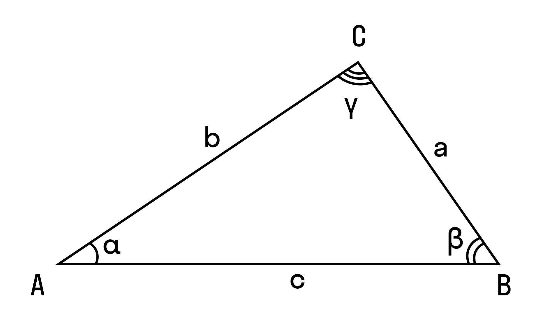 Формулировка теоремы для каждой из сторон треугольника