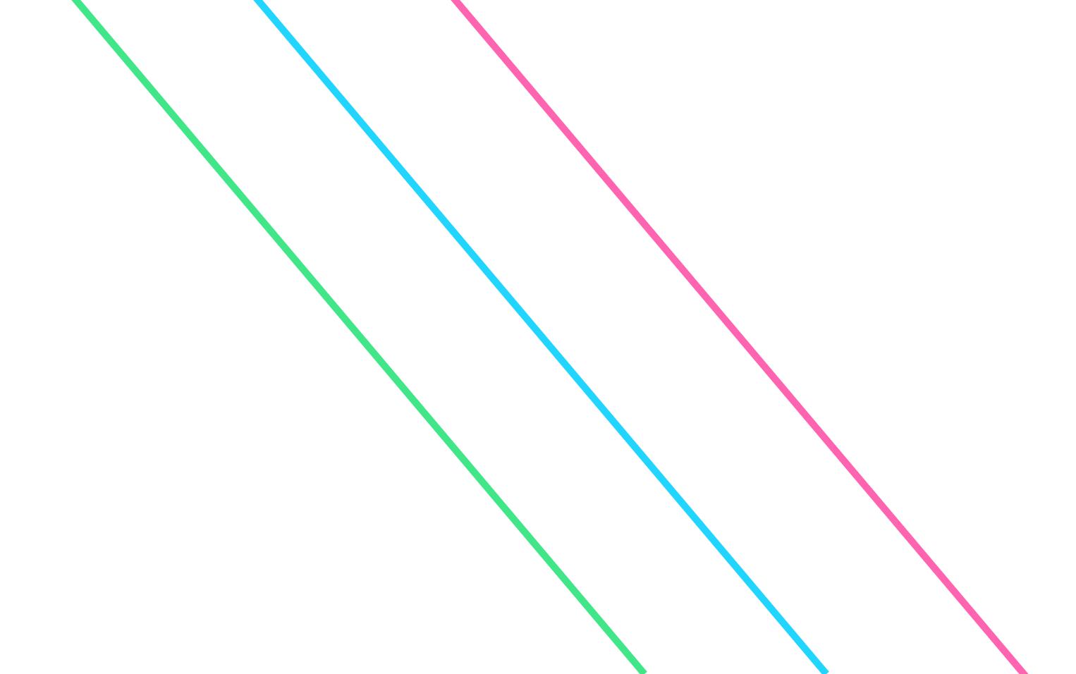 все три прямые параллельны