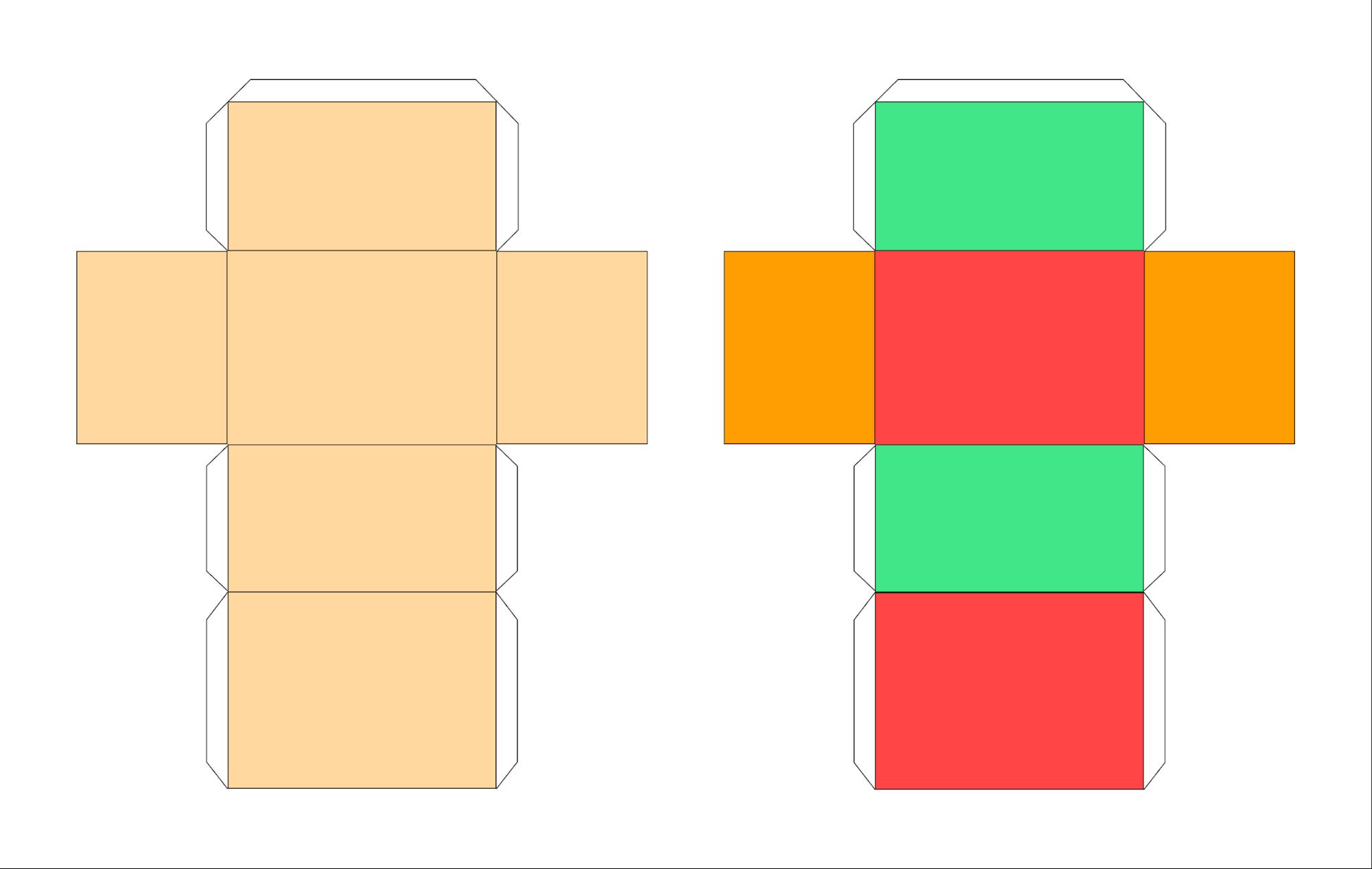 Схема создания прямоугольного параллелепипеда