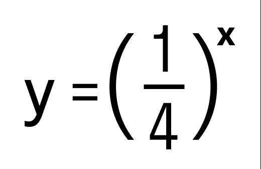 Пример показательной функции