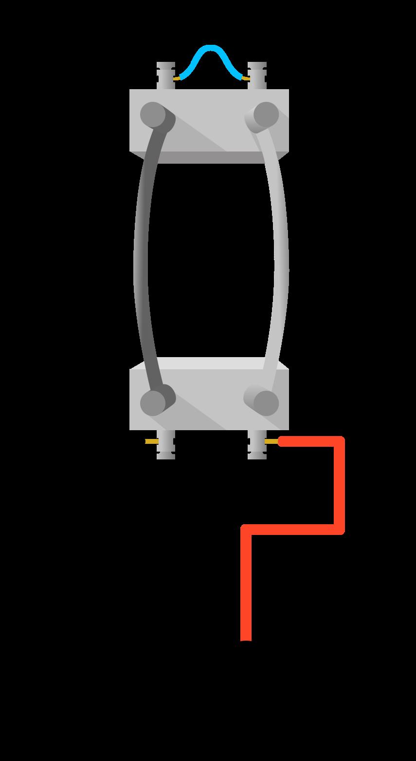 два параллельных проводника