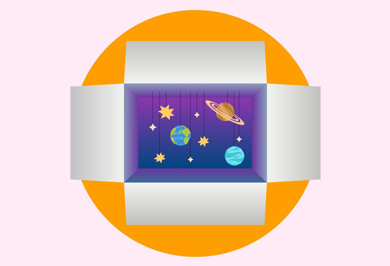 Галактика в коробке