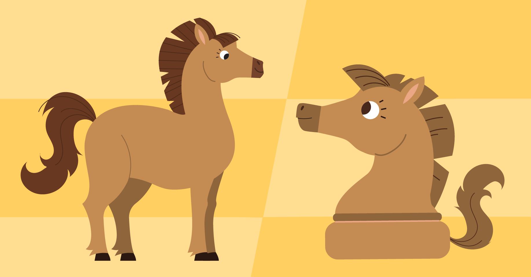 Конь — шахматная фигура