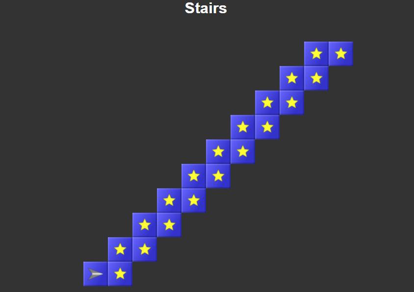 Скриншот игры Robozzle